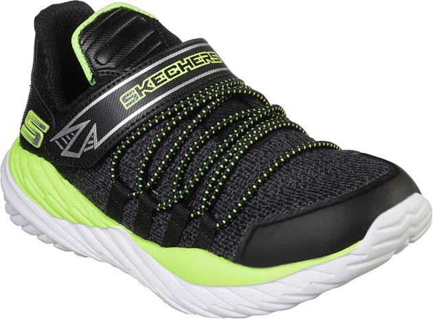 Skechers Nitro Sprint Lenkkarit, Black/Lime 31