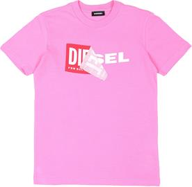 Diesel Tdiego T-Paita, Rosa Chiaro 10 vuotta