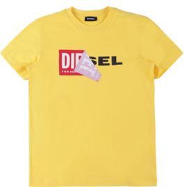 Diesel Tdiego T-Paita, Intense Yellow 12 vuotta