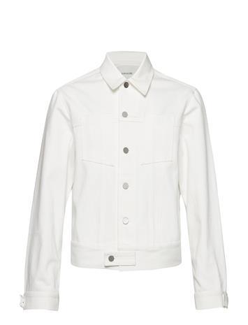 Tonsure Denim Jacket Valkoinen