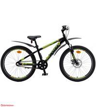 Insera Lizard 24 3-vaihteinen polkupyörä, Musta