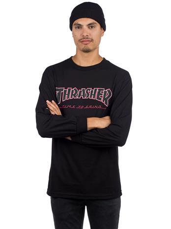 Independent X Thrasher Ttg Long Sleeve T-Shirt black Miehet