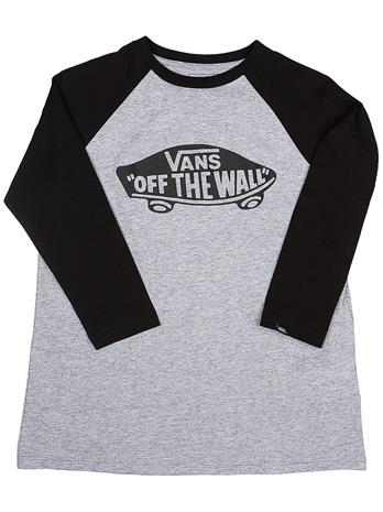 Vans Otw Raglan Long Sleeve T-Shirt athletic heather / black Jätkät