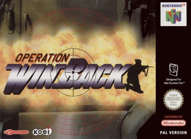 Operation: Winback, retropeli