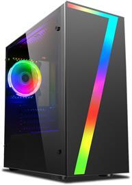 Vibox Pöytäkone pelikäyttöön (AMD FX 4300, 8 GB, 1 TB HDD, Win 10), keskusyksikkö