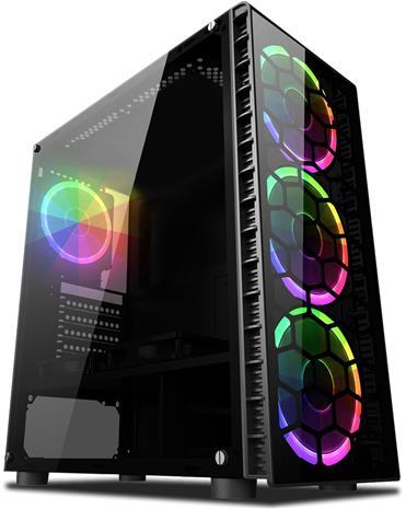 Vibox Pöytäkone pelikäyttöön (A6-9500, 4 GB, 1 TB HDD, Win 10), keskusyksikkö