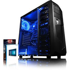 Vibox Pöytäkone pelikäyttöön (A6-9500, 8 GB, 1 TB HDD, Win 10), keskusyksikkö