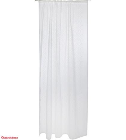 Vallila Alfa valmisverho, valkoinen