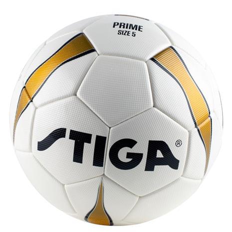 STIGA, Footboll, Prime, Size 5. White/Gold