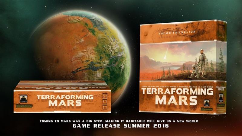 Terraforming Mars, lautapeli