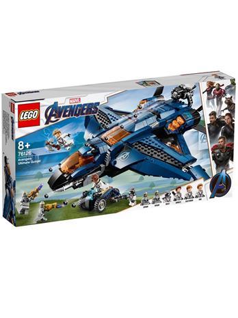Lego Marvel Super Heroes 76126, Kostajien huikea Quinjet (Avengers' Ultimate Quinjet)