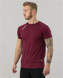 ICANIWILL Clean Tee Man, burgundy