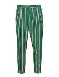 Scotch & Soda Twilt - Pleated Chino In Bright Printed Stripe Pattern Monivärinen/Kuvioitu