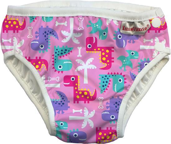 ImseVimse Uimahousut, Pink Dino S