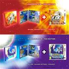Pokemon Moon + Sun Fan Edition Bundle, Nintendo 3DS-peli