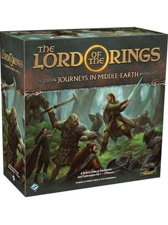 The Lord of the Rings: Journeys in Middle-Earth Lautapeli