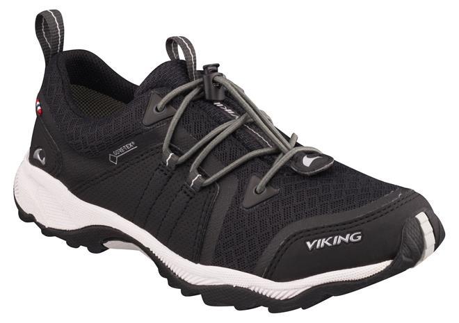 Viking Exterminator Kengät, Black/Grey 40