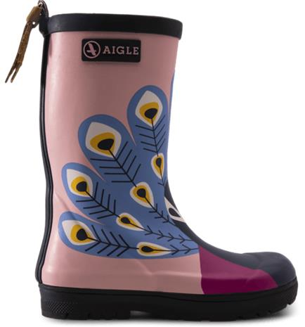 Aigle J WOODYPOP FUN BOOT PAON PINK