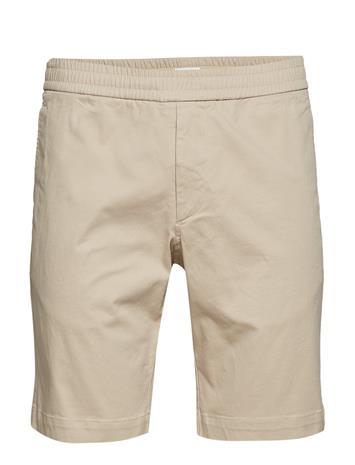 Filippa K M. Terry Cotton Twill Shorts Beige