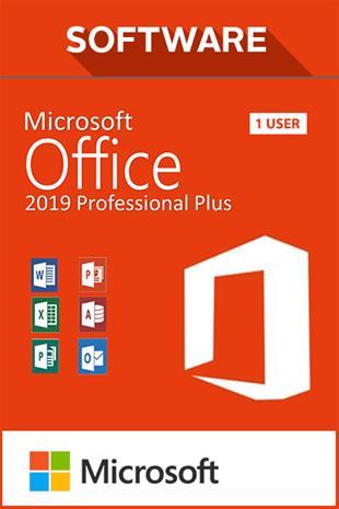 Microsoft Office Professional Plus 2019, toimisto-ohjelmisto