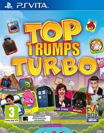 Top Trumps Turbo, PS Vita -peli