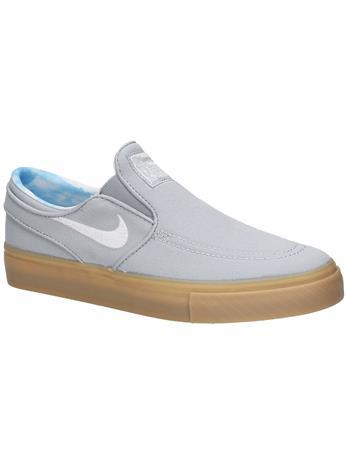 Nike Stefan Janoski PRT GS Skate Shoes wolf grey / white / gum light Jätkät