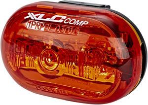 XLC Comp Oberon 5X CL-R09 ajovalo StVZO kaikkiin polkupyöriin , punainen