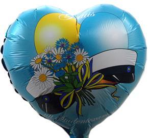 Student Foil balloon 45cm ilmapallo sydän