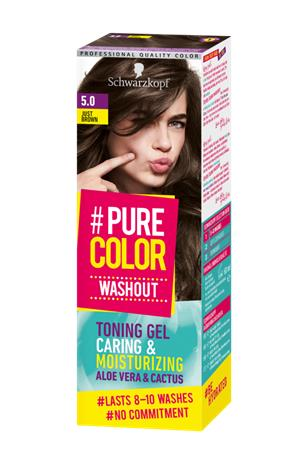 "Schwarzkopf ""Pure Color Washout 5.0 Just Brown"""