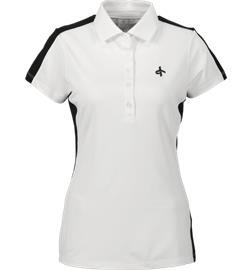 Cross Sportswear W FNC BASE PIQUE WHITE/STRIPE