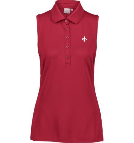 Cross Sportswear W FNC BASE SL PIQUE DARK PINK