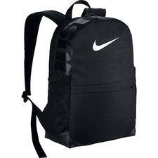 Nike Reppu Brasilia - Musta/Valkoinen Lapset