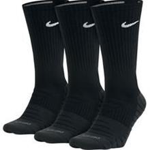 Nike Sukat Dry Cushion Crew 3-pack - Musta/Harmaa/Valkoinen