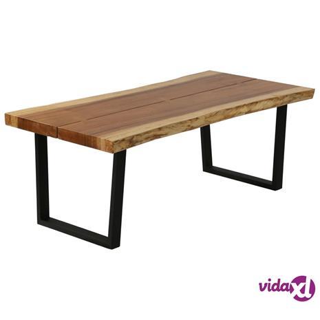 vidaXL Sohvapöytä sadepuu 102x56x41 cm