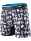 Stance Happiness Boxershorts black Miehet