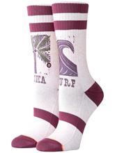 Stance Aloha Socks pink Naiset