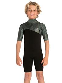 Rip Curl E Bomb 2/2 Zip Free Spring Wetsuit Youth camo