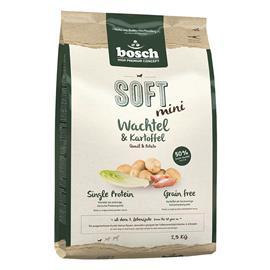 bosch Soft Mini Quail & Potato - 3 x 2,5 kg