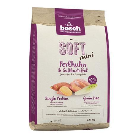 bosch Soft Mini Guineafowl & Sweet Potato - 2,5 kg