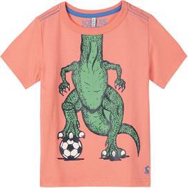 Tom Joule T-Paita, Orange Football Dino 3 vuotta