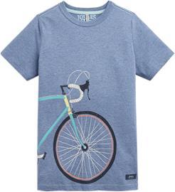 Tom Joules T-Paita, Blue Marl Bike 9-10 vuotta