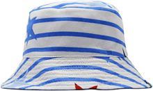 Tom Joule Käännettävä Hattu, White Jumbo Star Stripe 1-2 Vuotta