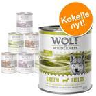 Wolf of Wilderness Adult -lajitelma - lammas, ankka, villisika 6 x 800 g
