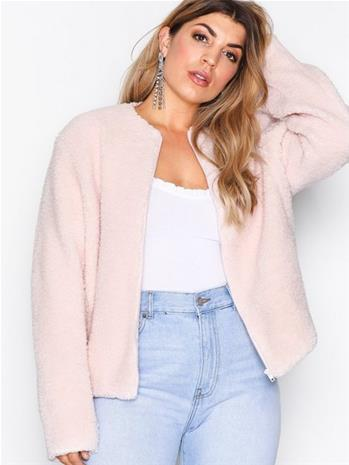 NLY Trend Simple Teddy Jacket