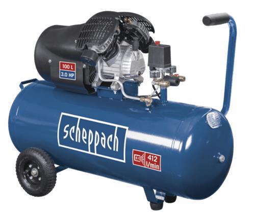 Scheppach HC100DC, kompressori