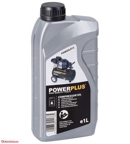 Powerplus 1l kompressoriöljy