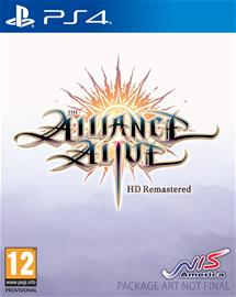 The Alliance Alive HD Remastered, PS4 -peli