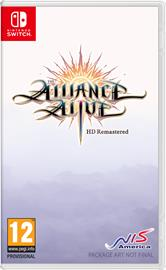 The Alliance Alive HD Remastered, Nintendo Switch -peli