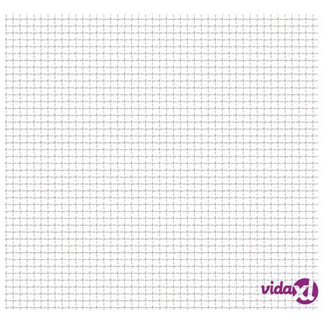 vidaXL Verkkoaitapaneeli ruostumaton teräs 100x85 cm 21x21x2,5 mm