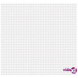 vidaXL Verkkoaitapaneeli ruostumaton teräs 50x50 cm 11x11x2 mm